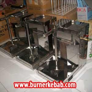 Cara Menyalakan Burner Kebab